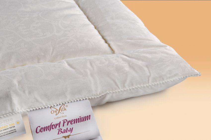 Детская шелковая подушка OnSilk Comfort Premium