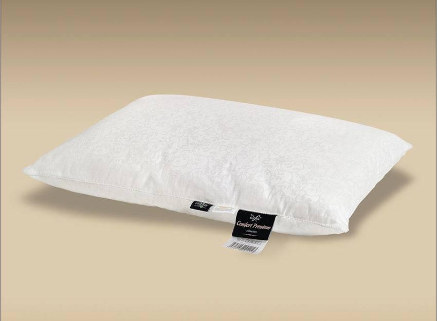 Шелковая подушка Comfort Premium S
