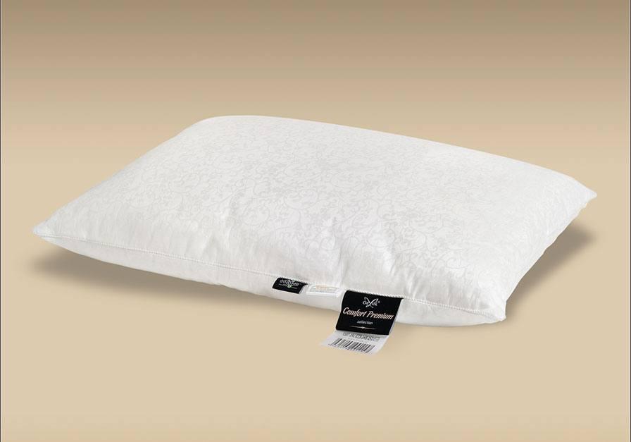 Шелковая подушка Comfort Premium M