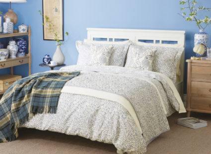 Купить Постельное бельё Morris & Co. Дизайн WILLOW BOUGH China Blue
