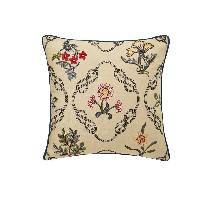 Декоративная подушка  STRAWBERRY THIEF indigo