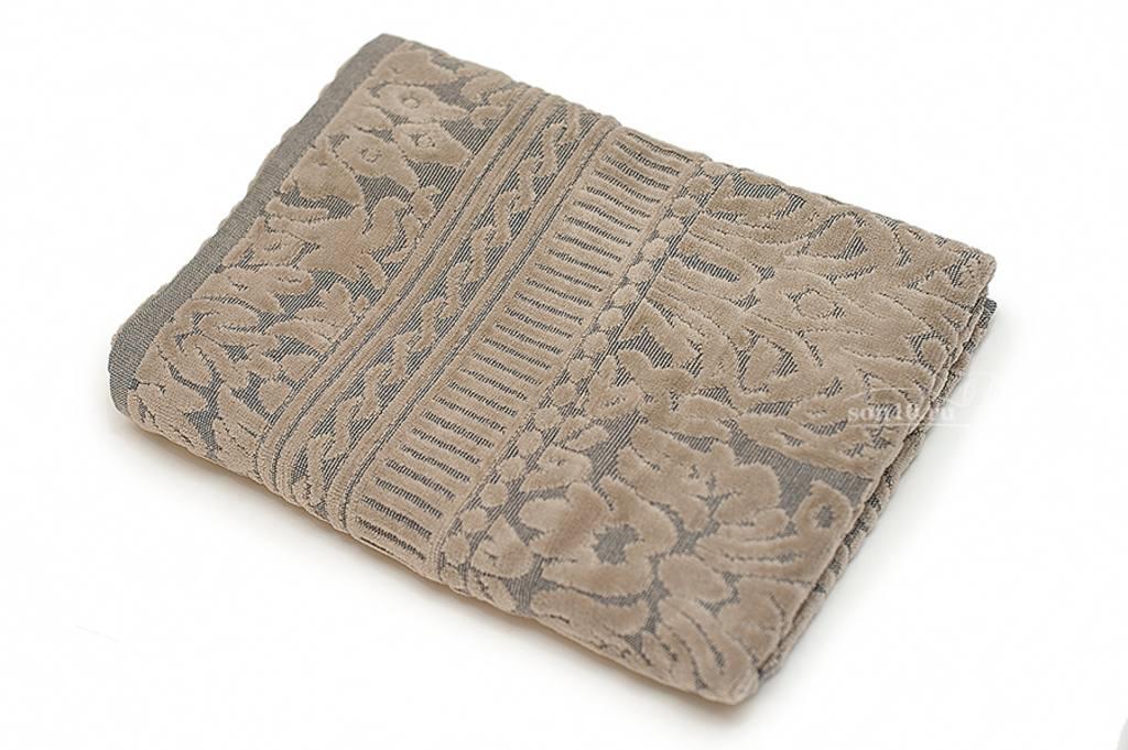 Полотенце махровое Saint Andrews 002 серый коричневый 2