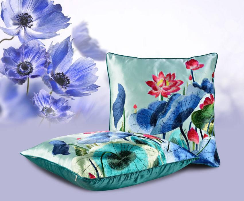 Декоративная подушка «Кувшинка»