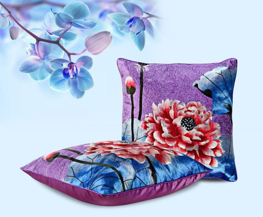 Декоративная подушка «Лотос»