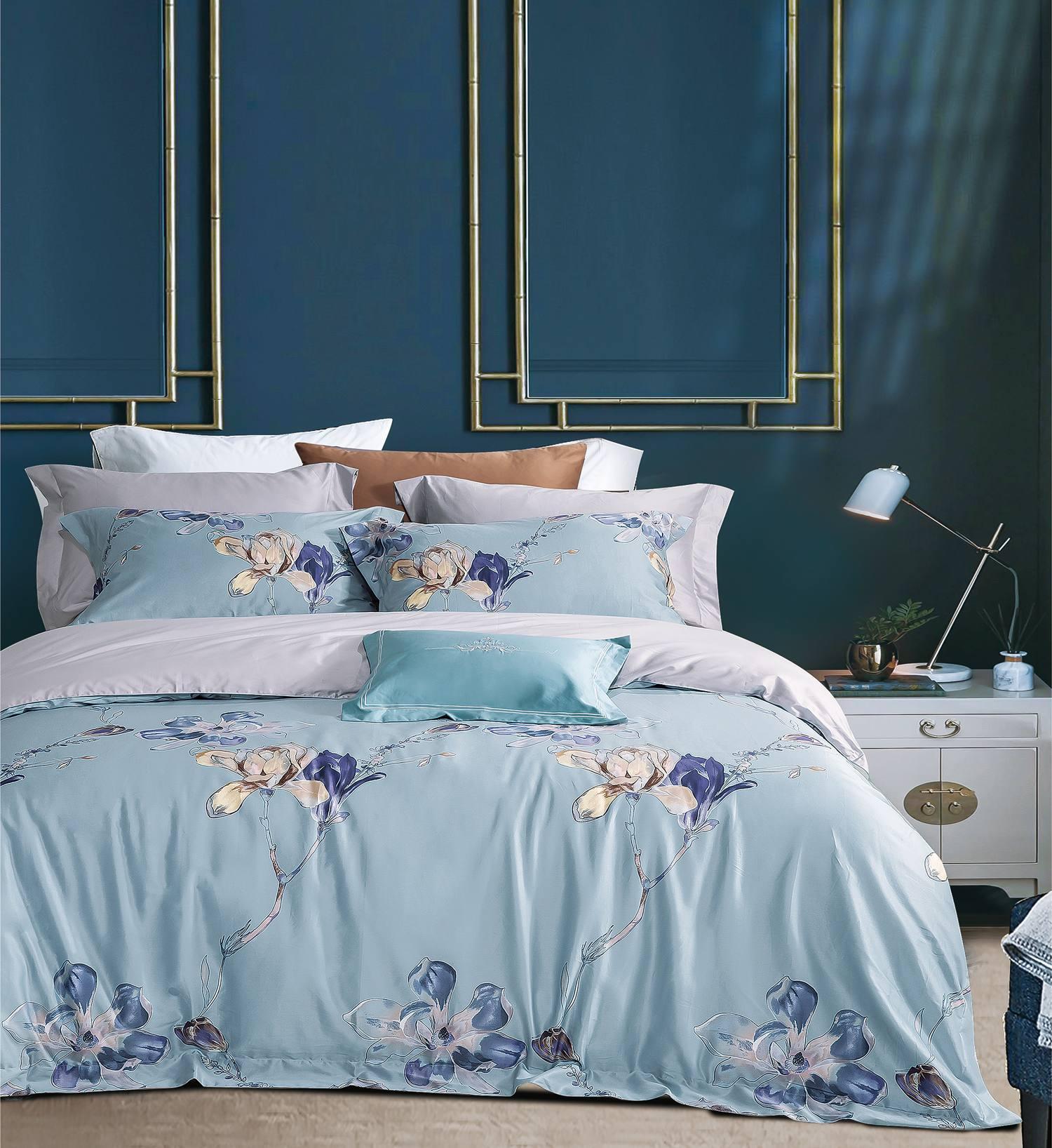 """Постельное бельё  Sharmes """"Magnolia-blue"""""""