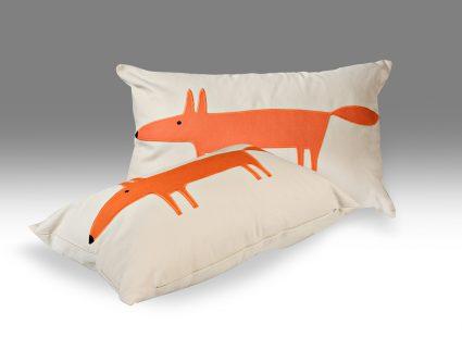 Декоративная подушка Mr Fox Mandarine