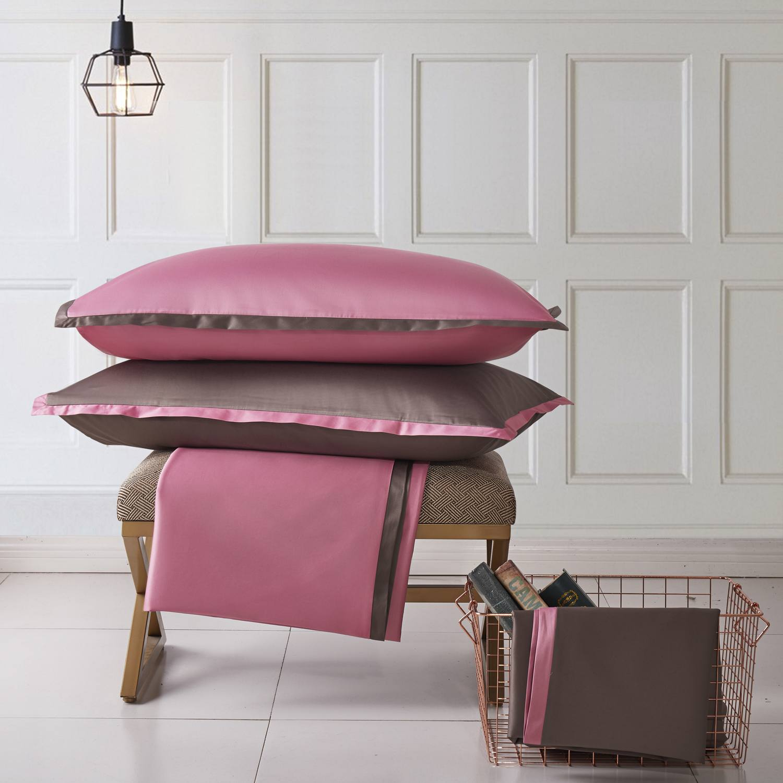 "Наволочка Sharmes ""Cocktail"" Цвет: Темно-розовый/темно-терракотовый/"