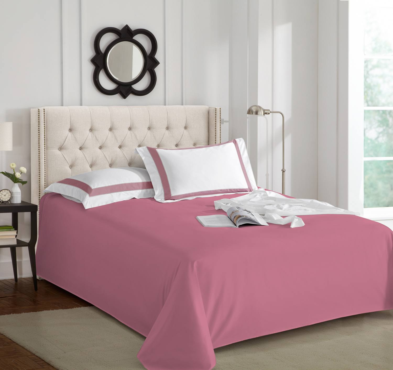 "Простынь ""Sharmes"" Цвет: темно розовый"