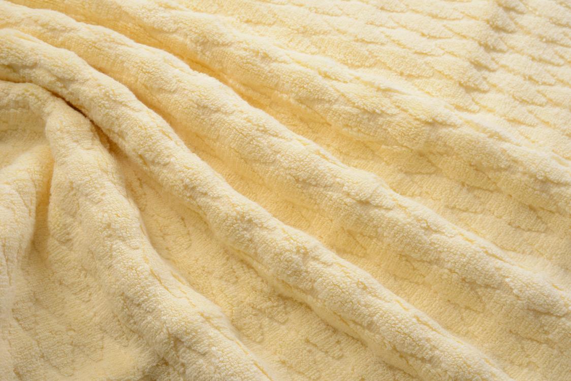 Полотенце Dream (Buddemeyer), цвет нежно-жёлтый