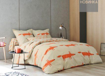 Постельное белье Scion Mr. Fox orange