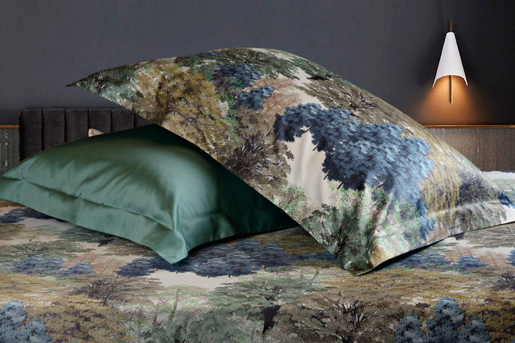 Постельное белье Sharmes. Дизайн Forest.