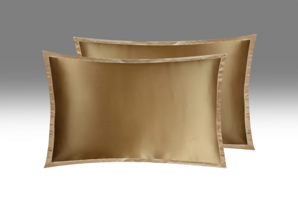 Шелковая наволочка OnSilk Цвет: золото