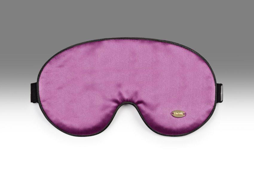 Маска для сна. Цвет: фиолетовый