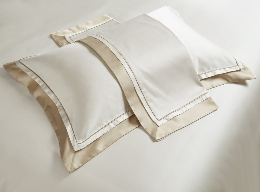 Постельное белье Sharmes Solid – Psihea Белое золото